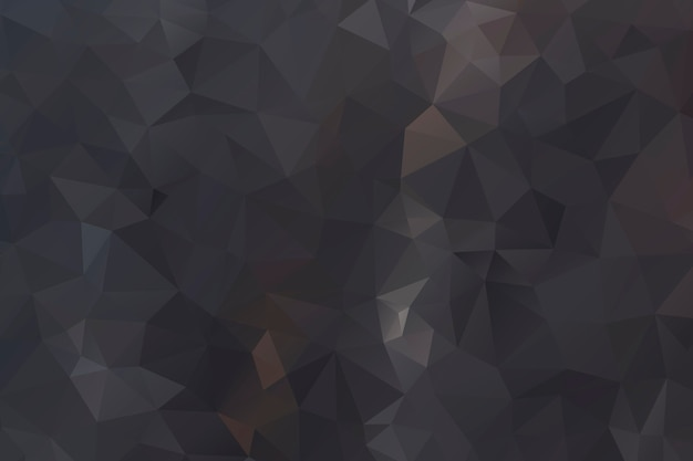 Diseño de fondo abstracto polígono negro