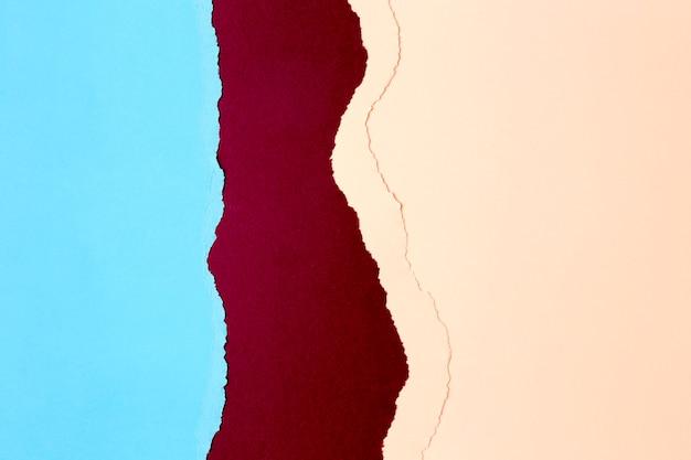 Diseño de fondo de formas de papel de colores