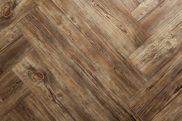 Diseño de fondo de madera marrón en blanco