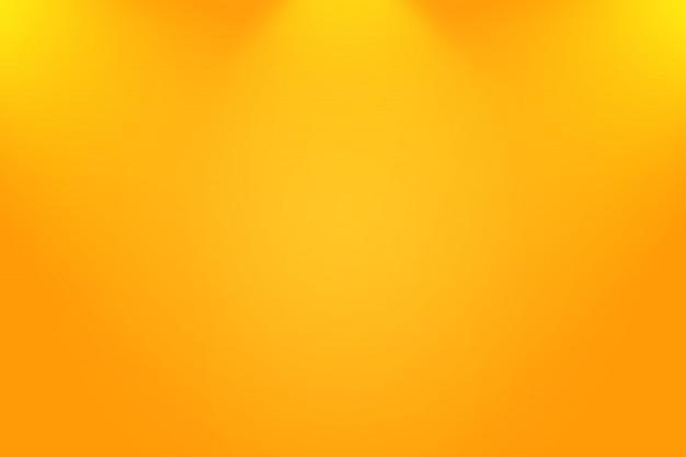 Diseño de fondo naranja liso abstracto