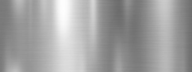 Diseño de fondo de textura de metal plateado