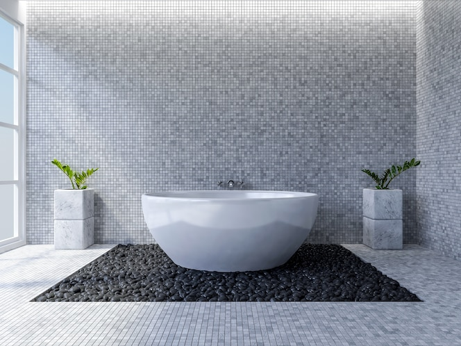 Toilet tiles fotos y vectores gratis for Diseno de banos 3d gratis