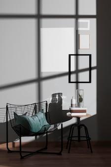 Diseño interior minimalista.
