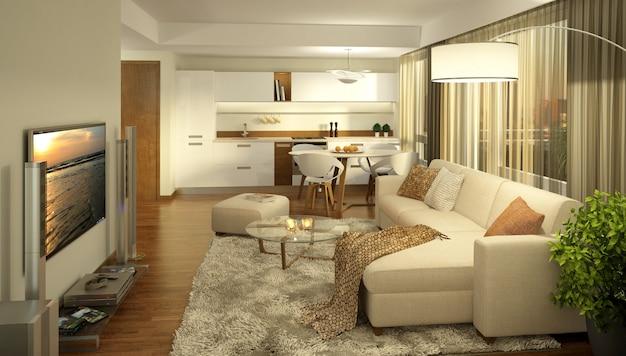 Diseño de interiores de lujo