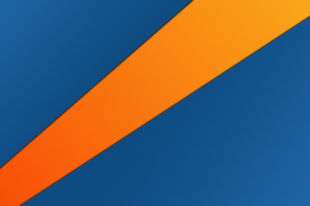 Diseño de material moderno, composición de papel de color, banner abstracto y fondo.
