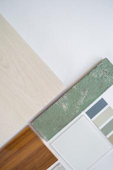 Diseño de muestras de materiales, selección de materiales, selección.