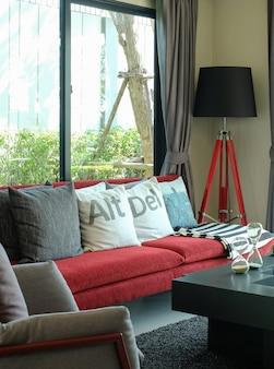 Diseño de la sala de estar moderna