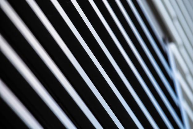 Diseño de superficie de rayas de ángulo bajo