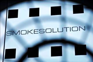 Diseño de vidrio para smokesolution