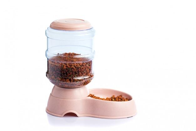 Dispensador de alimento seco para mascotas