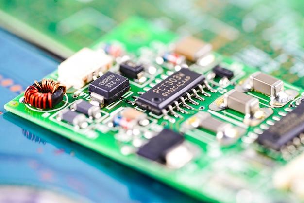 Dispositivo informático de la placa principal del circuito del ordenador