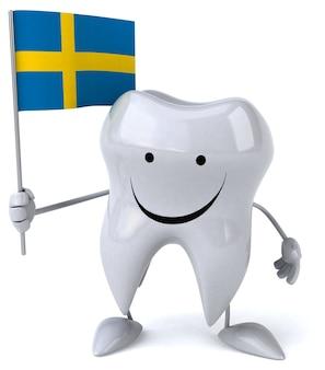 Divertida animación de dientes