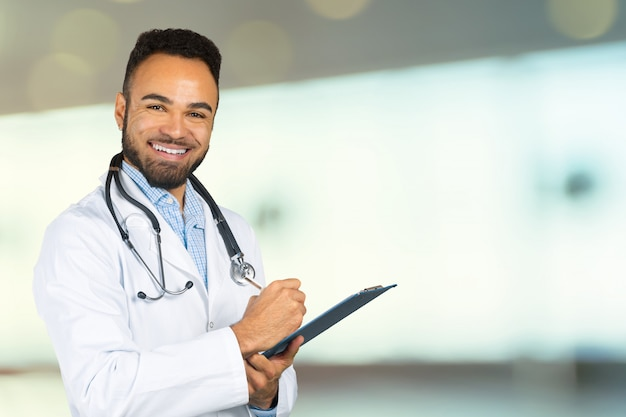 Doctor africano retrato