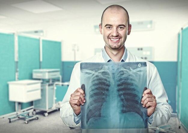 Doctor sonriente