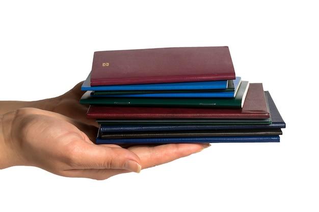Documentos en manos