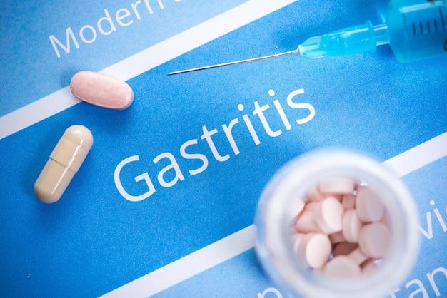 Documentos y medicamentos relacionados con la gastritis