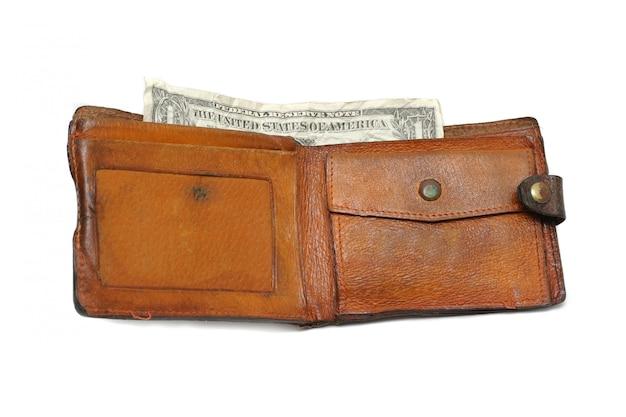 Un dolar en la billetera