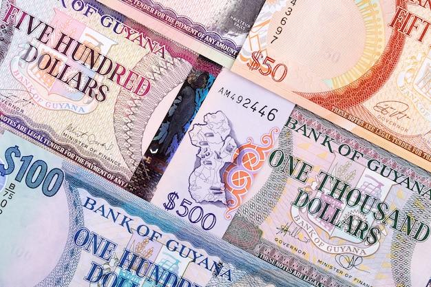 Dólares guyaneses, un fondo