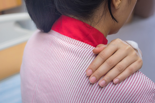Dolor de espalda del paciente