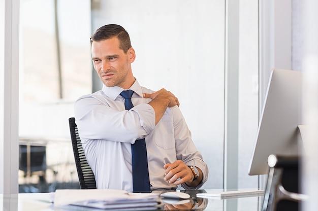 Dolor de espalda en el trabajo