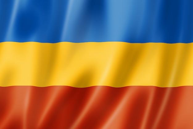 Don cosacos bandera étnica, rusia