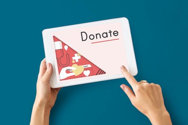 La donación de sangre está ayudando a las personas