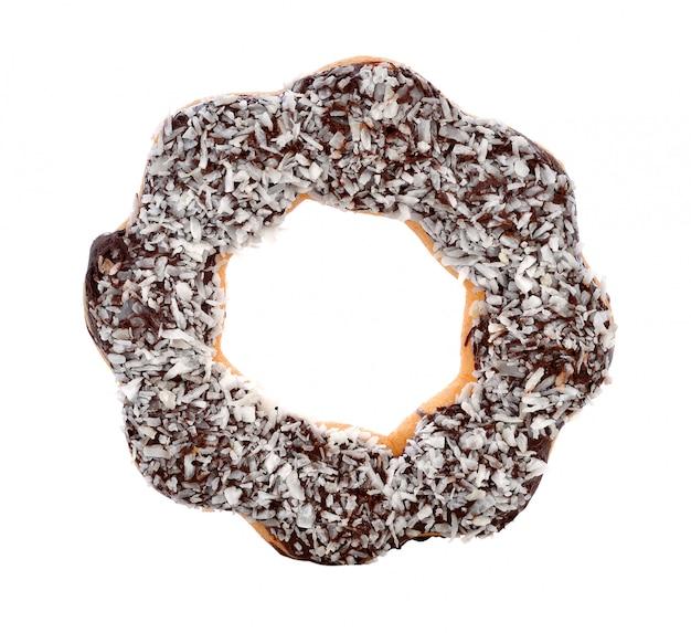 Donuts aislados en blanco