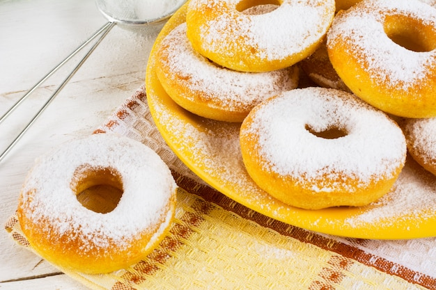 Donuts caseros dulces