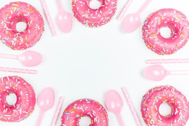 Donuts y cucharas