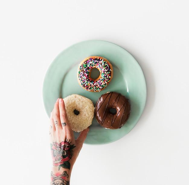 Donuts de postre