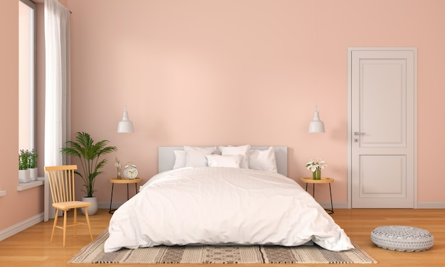 Dormitorio interior