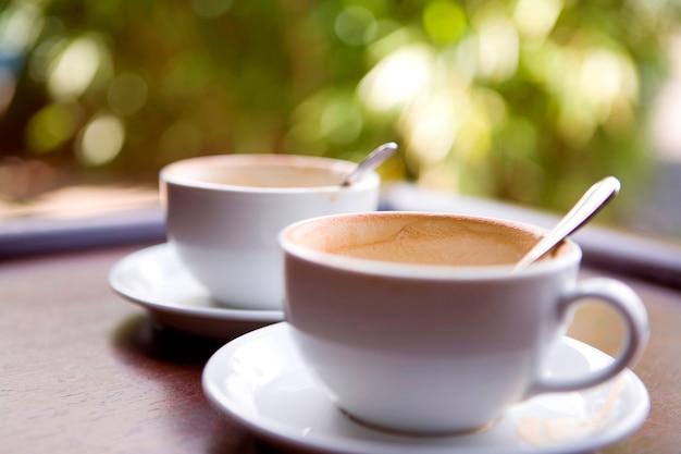 Dos bebidas de café