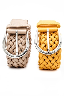 Dos cinturones de mujer