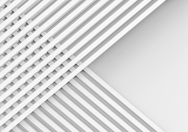Dos superposiciones de barras paralelas blancas largas grupo de regtágenos
