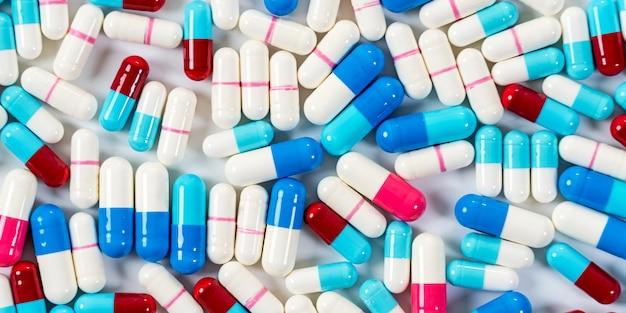 Drogas medicinales píldoras cápsulas