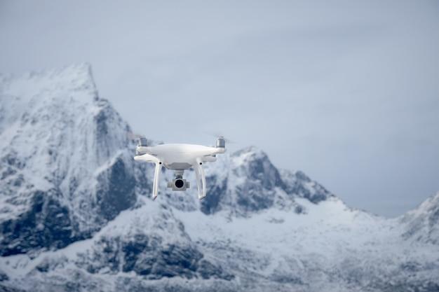 Drone con cámara digital