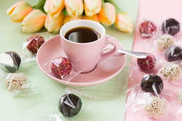 Dulces con cafe