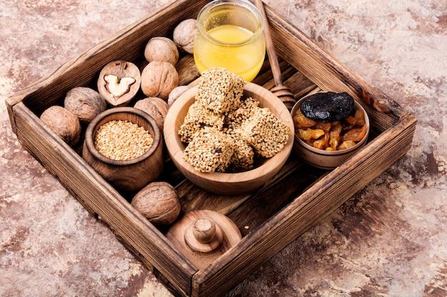 Dulces dietéticos para inmunidad