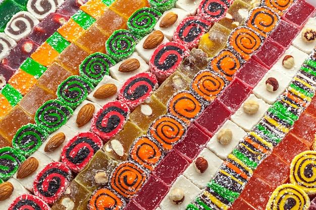 Dulces y dulces turcos