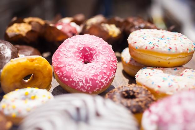 Dulces tradicionales polacos donuts