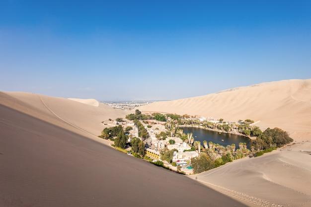 Dunas del desierto de huacachina
