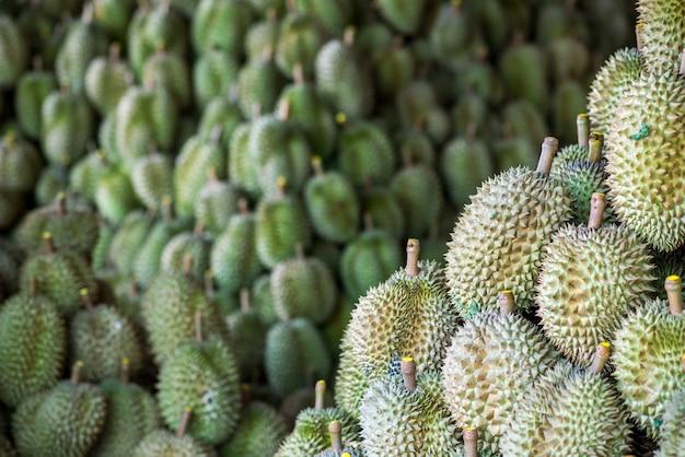 Durian rey de las frutas