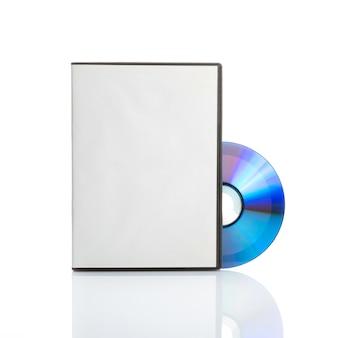 Dvd en blanco con tapa