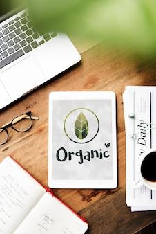 Ecología medio ambiente salvar la tierra orgánica