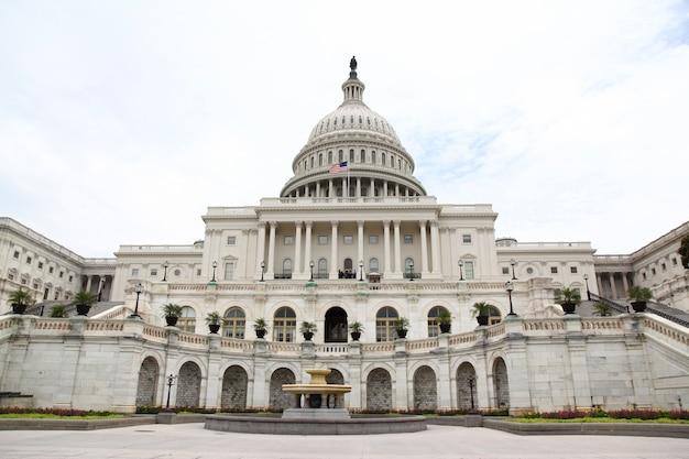 Edificio del capitolio de los estados unidos en washington dc, ee. uu. congreso de los estados unidos