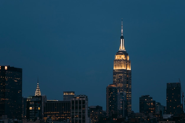 Edificio empire state en manhattan