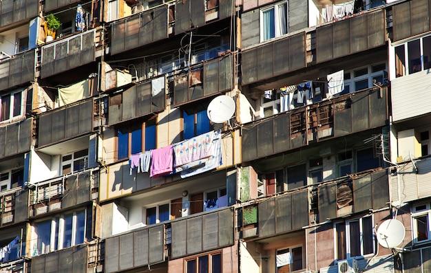 El edificio en ereván, armenia