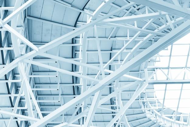 Edificio con estructura de acero