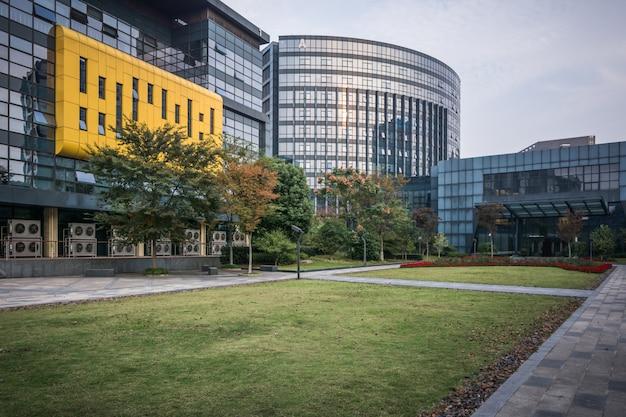 Edificio moderno de negocios en china