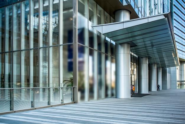 Edificio de oficinas del distrito financiero del edificio de la ciudad